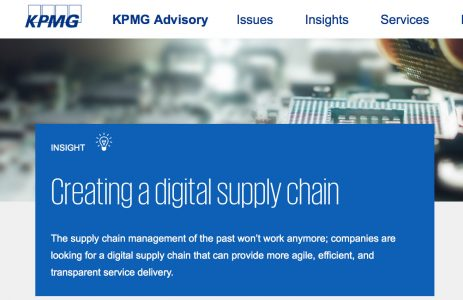 KPMG Creating a Digital Supply Chain