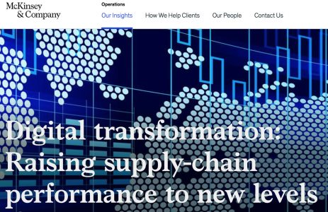 McKinsey and Co. Digital Transformation